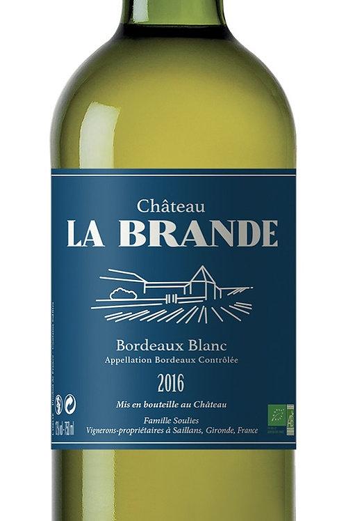 Château La Brande Bordeaux Blanc sec 2016