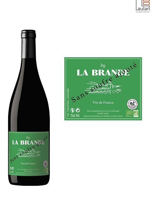 By La Brande VDF Rouge Bio Sans Soufre Ajouté 2019 75 cl