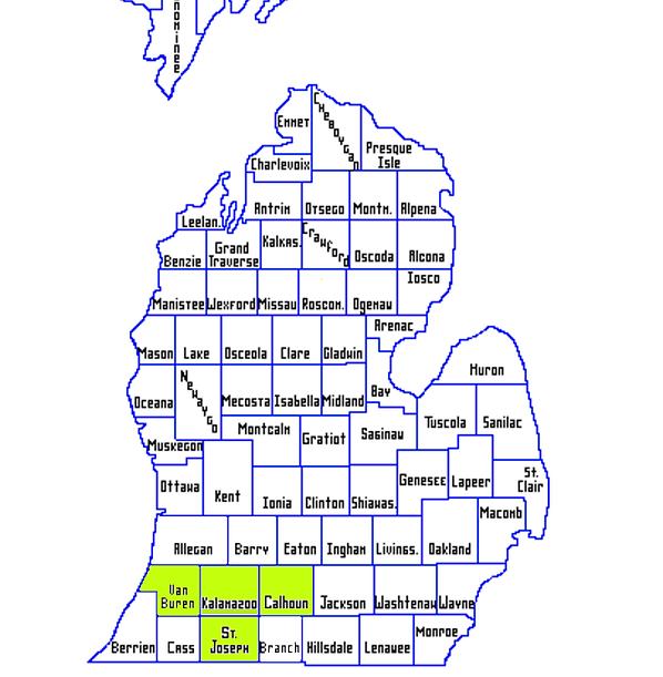 Guilford Law, PLLC Practice Region