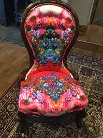Statement chair Timorous Beasties