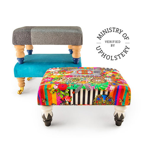 Ministry of Upholstery Classic Footstool Course