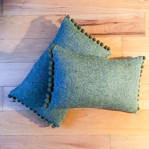 Harris Tweed Scatter Cushion