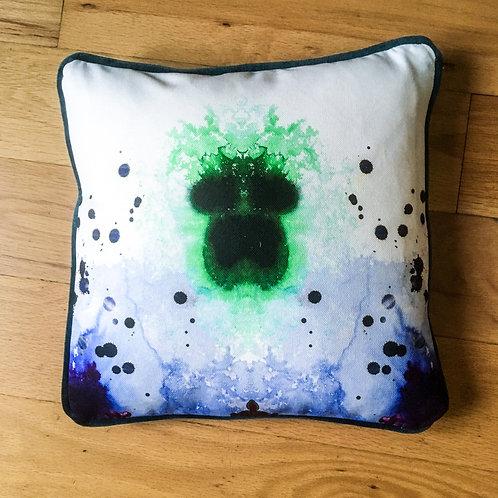 Cushion using Timorous Beasties fabric