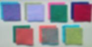 Bute fabric samples