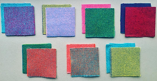 Bute fabric samples