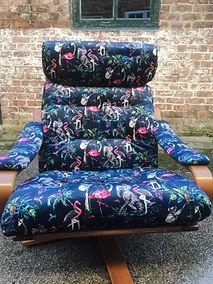 Muck n Brass swivel chair