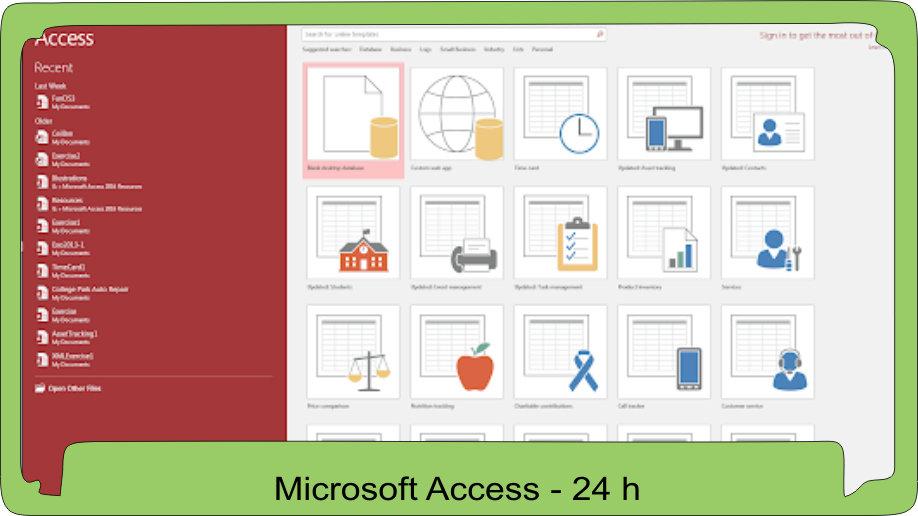Microsoft Access - Podstawy projektowania relacyjnych baz danych