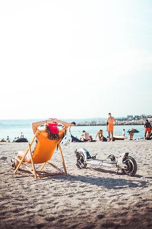 Curvway - Plage transat bain de soleil