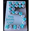 Number Apart Cake