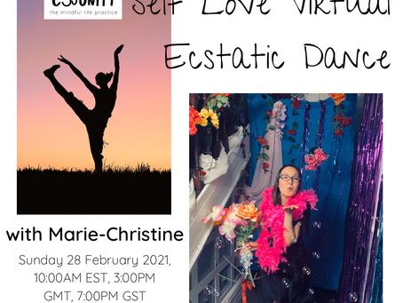 Self Love Virtual Ecstatic Dance with Marie-Christine