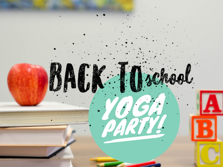 Back to School Yoga Party!