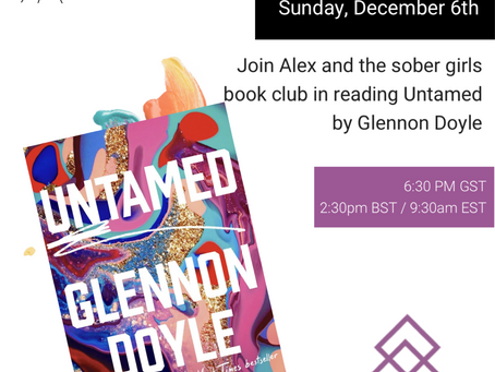 SGC Book Club: Untamed by Glennon Doyle