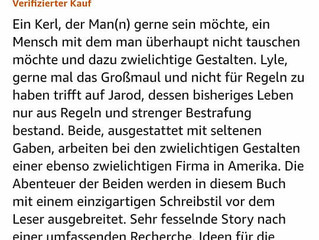 Hurra! Eine Rezension