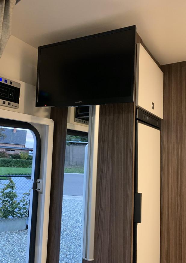 TV/DVD-scherm. WiFi onboard.