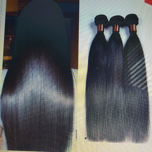 Brazilian Virgin Hair Straight 3 Bundles