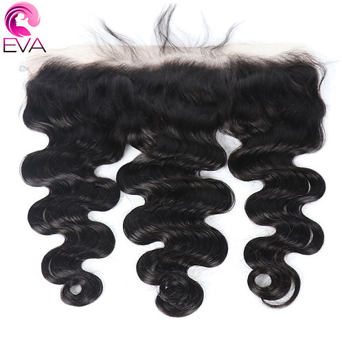 Eva Hair Pre Plucked Lace Frontal Closure With Baby Hair Body Wave 13X4 Free Par