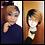 Thumbnail: Debut Ombre Human Hair Wigs Brazilian Short Bob Wigs Human Hair TT2/27