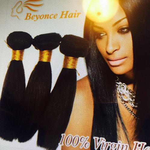 8A Peruvian Virgin Hair Straight 3/pcs