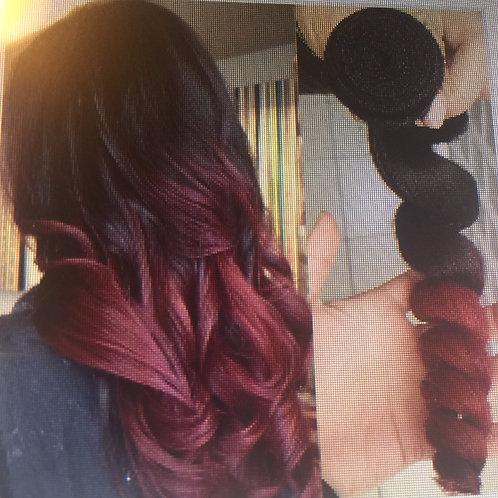 Best Quality Brazilian Virgin Hair Ombre Color 1B