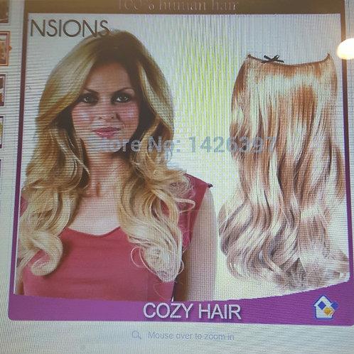 brazilian virgin body wave hair flip-in p27/613