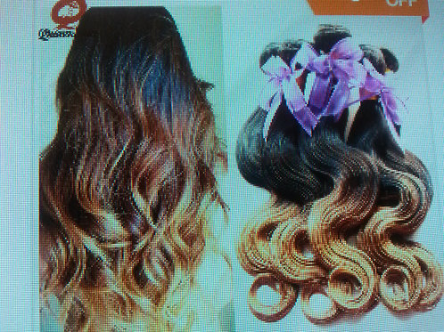 """18"""" Wavy Ombre Hair Extension Queen Hair Products"""