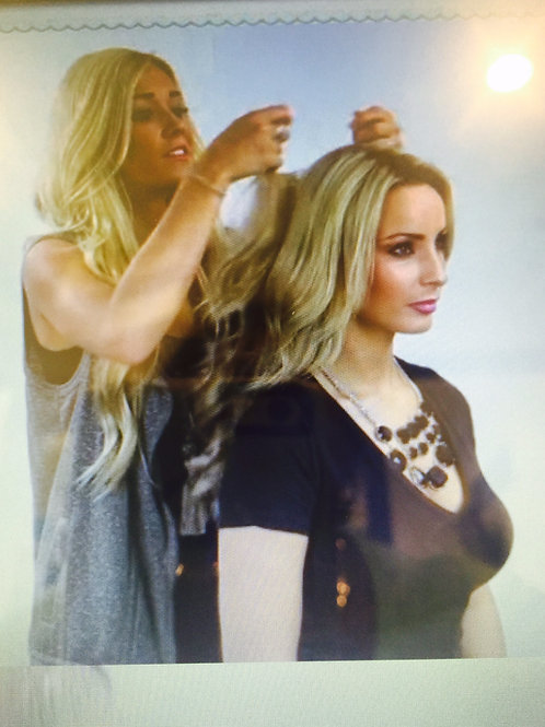 New Style Natural Flip-In Hair Extensions