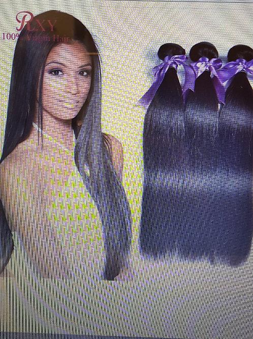 Malaysian Virgin Hair Straight 3pcs Rosa Hair