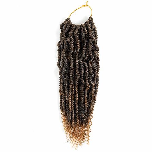 Spring Twist Crochet Hair Extensions Synthetic Crochet Braids
