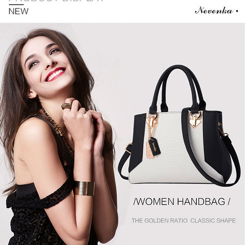 Nevenka Women Handbag PU Leather Bag Zipper Crossbody Bags Lady Bag High Quality