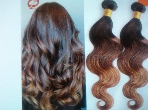 Brazilian Virgin Human Hair Ombre Hair Body Wave