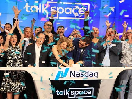 Talkspace is Trading on Nasdaq