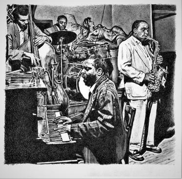 Charles Mingus, Roy Haynes, Charlie Parker & Thelonious Monk