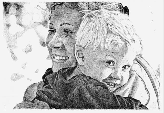 Matty & Mom