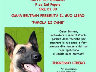Presentazione del libro PAROLA DI CANE di OMAR BELTRAN - FERMO, 16 MAGGIO 2014