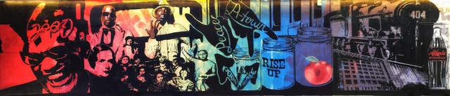 Mural for W Hotel Atlanta - Midtown
