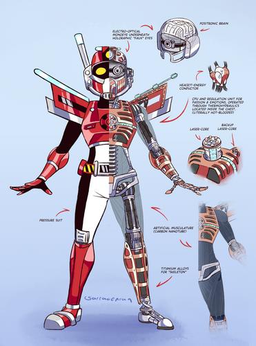 Rescue-Knight anatomy