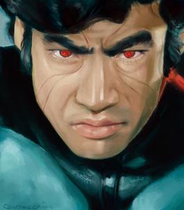 Digital painting - Kamen Rider 1971
