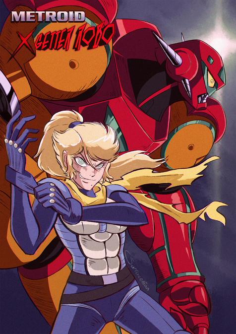 Metroid x Getter Robo