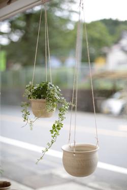 ブランコの植木鉢