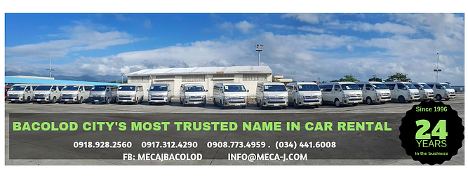 BACOLOD CITY'S MOST TRUSTED NAME IN CAR