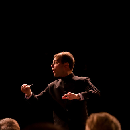 Caleb to Compete for the Respighi Prize in Conducting