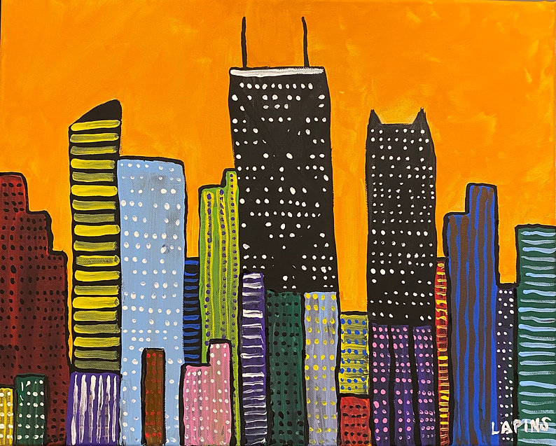 Orange Chicago 20 x 16 Kenny Lapins.jpg