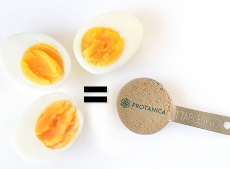 1 tablespoon of cricket protein powder = 1.5 boiled eggs protein