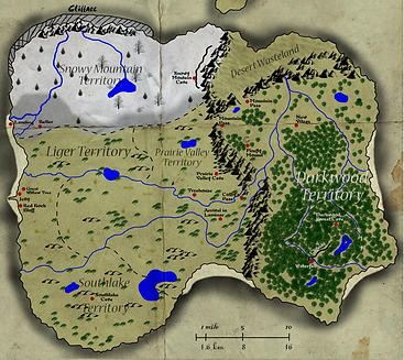 map of laminar chronicles