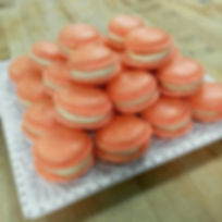 Passion Fruit French Macarons!!__jilliciousdesserts_#frenchmacarons #passionfruit #newflavor