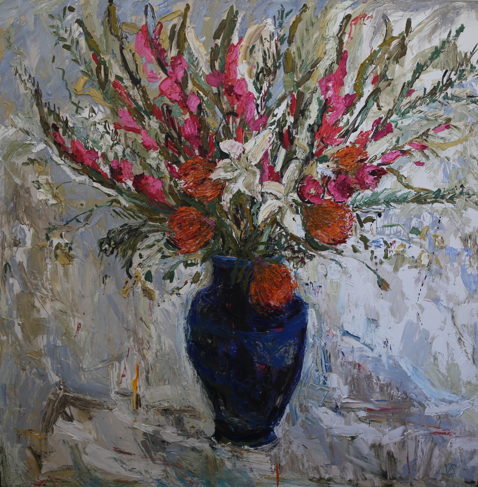 Proteas, Gladiolus and Lilies