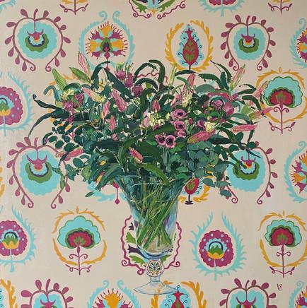 Daula Lisianthus and Lilies