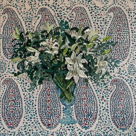 Jamawar Lilies