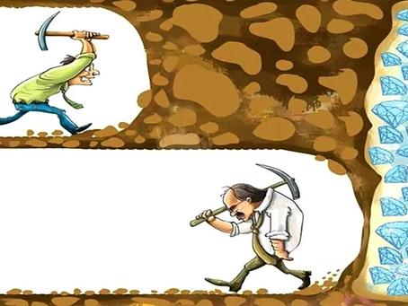Tudo é possível se você não desistir