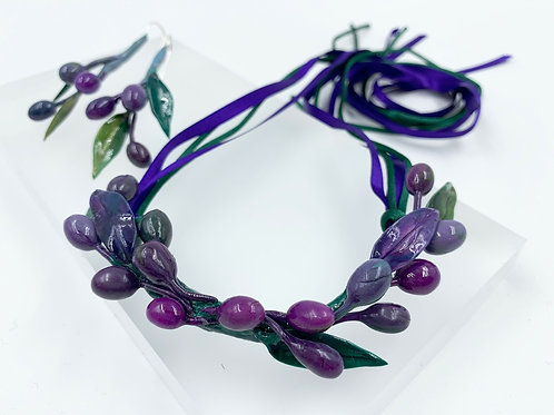 OLIVE NECKLESS from Set